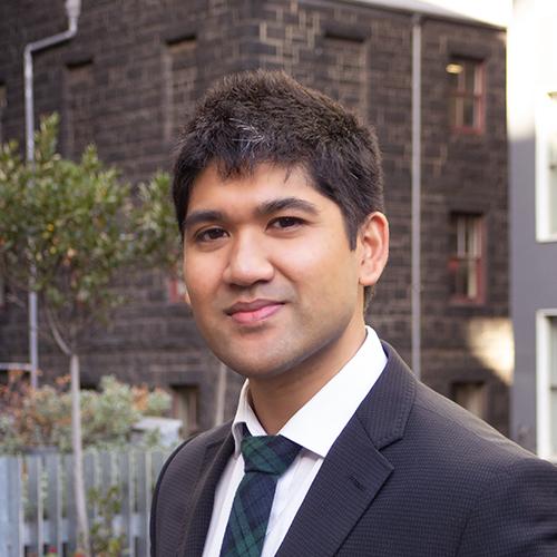 Azim Bhutta, Graduate Transport Analyst, Melbourne, Victoria, Veitch Lister Consulting, VLC