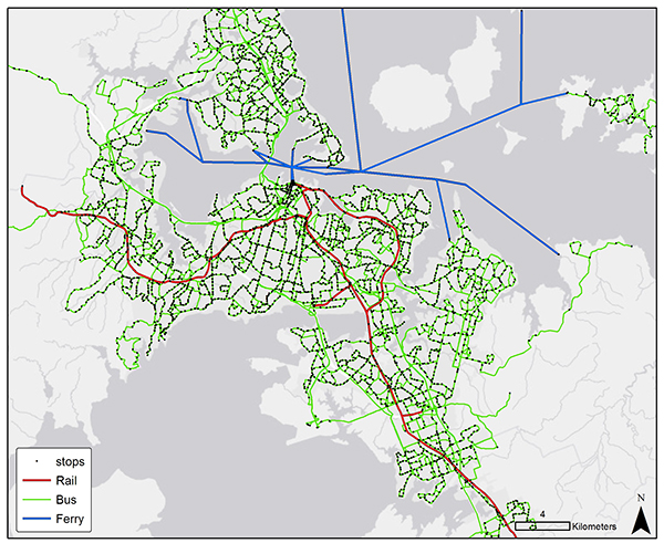 Figure 3, Transport economics, transport planning, Veitch Lister Consulting, VLC
