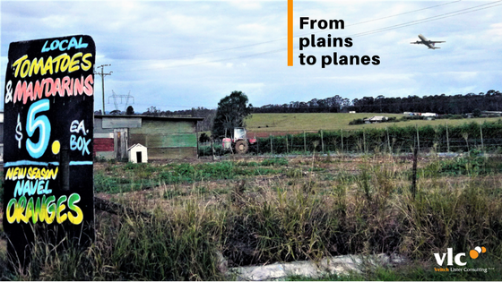 From plains to planes, Transport economics, transport planning, Veitch Lister Consulting, VLC