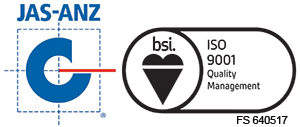 JASANZ - BSI, ISO 9001, Veitch Lister Consulting, VLC