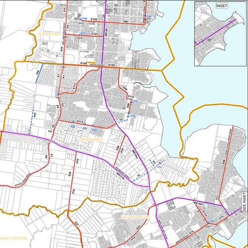 tile, Redland City Priority Infrastructure plan, Transport analytics & forecasting, Redland, Queensland, Melbourne, Brisbane, Sydney, Australia, Veitch Lister Consulting, VLC